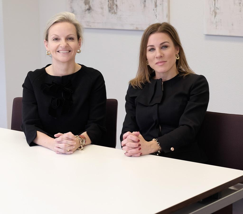 Anneloes en Katja